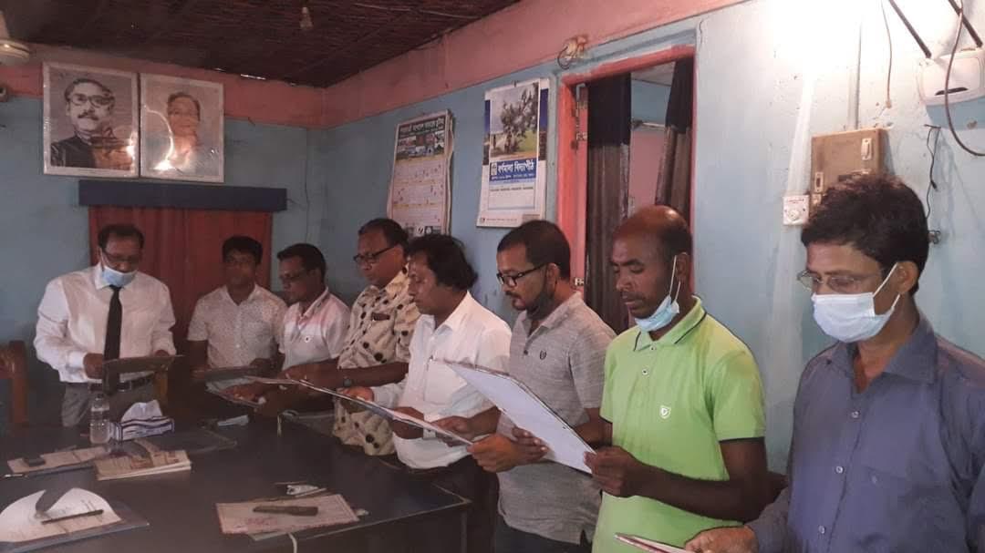 বোদা উপজেলা প্রেসক্লাবের অভিষেক অনুষ্ঠিত