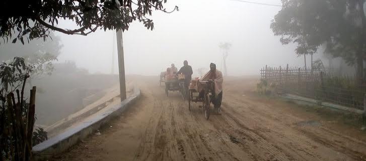 তেঁতুলিয়ায় দেশের সর্বনিম্ন তাপমাত্রা রেকর্ড