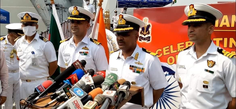 মোংলা বন্দরে পৌঁছেছে ভারতীয় দুই যুদ্ধজাহাজ কুলিশ ও সুমেদা