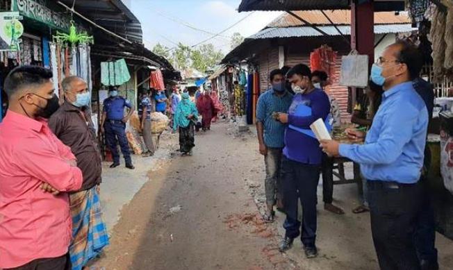 ঠাকুরগাঁওয়ে সরকারি নির্দেশ অমান্য করায় জরিমানা অব্যাহত
