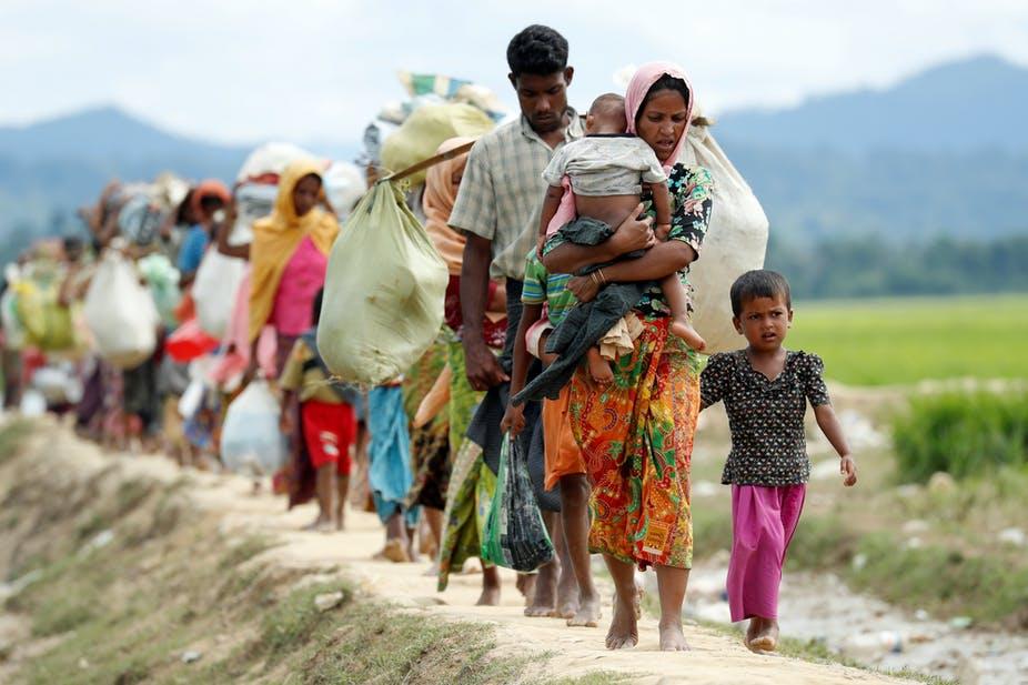 ফের টেকনাফ সীমান্ত দিয়ে রোহিঙ্গা অনুপ্রবেশ : সীমান্তে টহল দ্বিগুণ