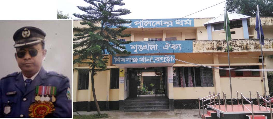 বগুড়ায় মানবিক সেবায় এগিয়ে শিবগঞ্জ থানা পুলিশ