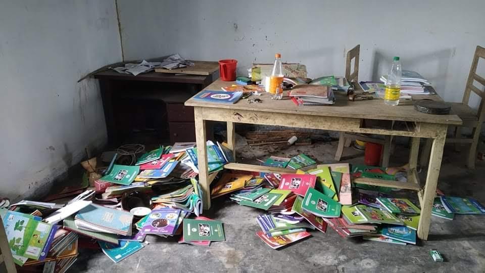 কমলগঞ্জে প্রাথমিক বিদ্যালয়ে চুরি