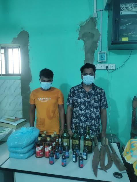 বেগমগঞ্জে বিদেশী মদসহ মাদক বিক্রেতা গ্রেফতার