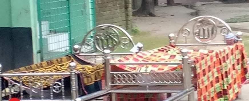 রাজবাড়ীতে করোনায় মেয়ের মৃত্যুর খবর শুনেই মায়ের মৃত্য্,ু মা মেয়ের দুজনের যানাজা একসঙ্গে